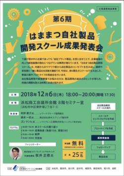 12/6 第6期 はままつ自社製品開発スクール成果発表会